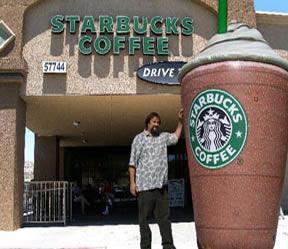 Starbucks coffeecup, product replica